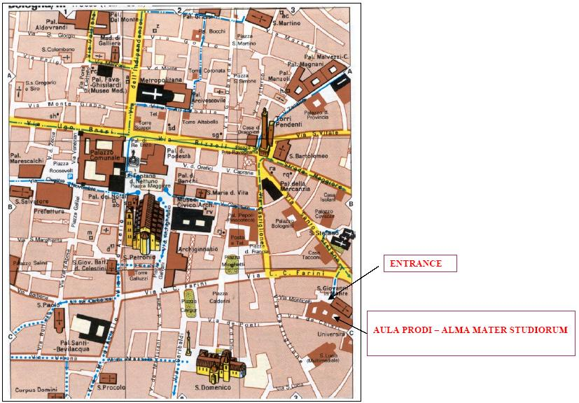fiera di modellismo bologna italy map - photo#6